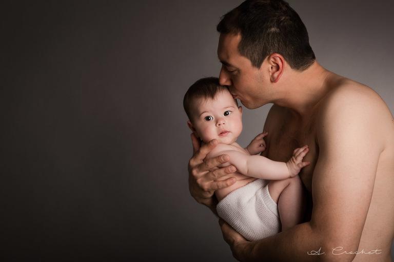 séance photo de bébé de 9 mois