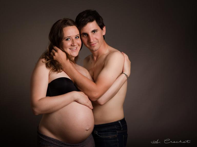 séance grossesse au studio