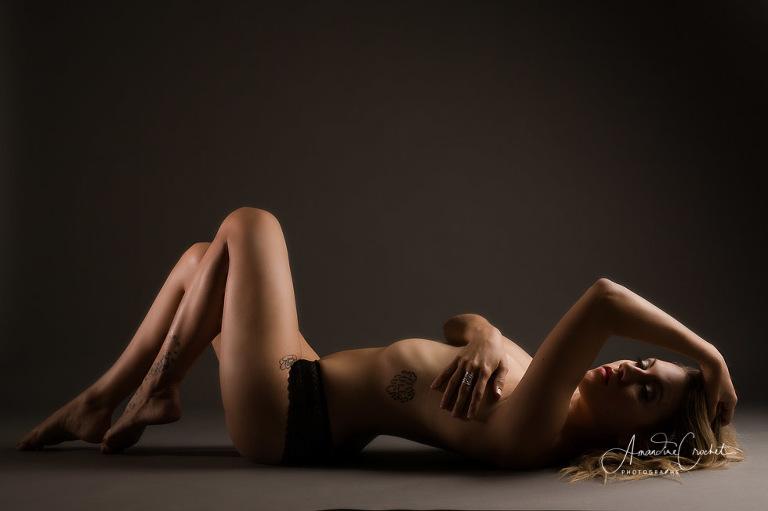 photos boudoir en studio
