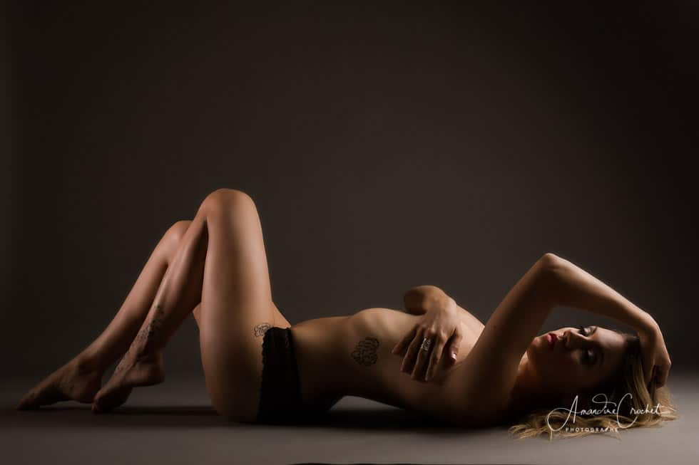 photos boudoir en studio