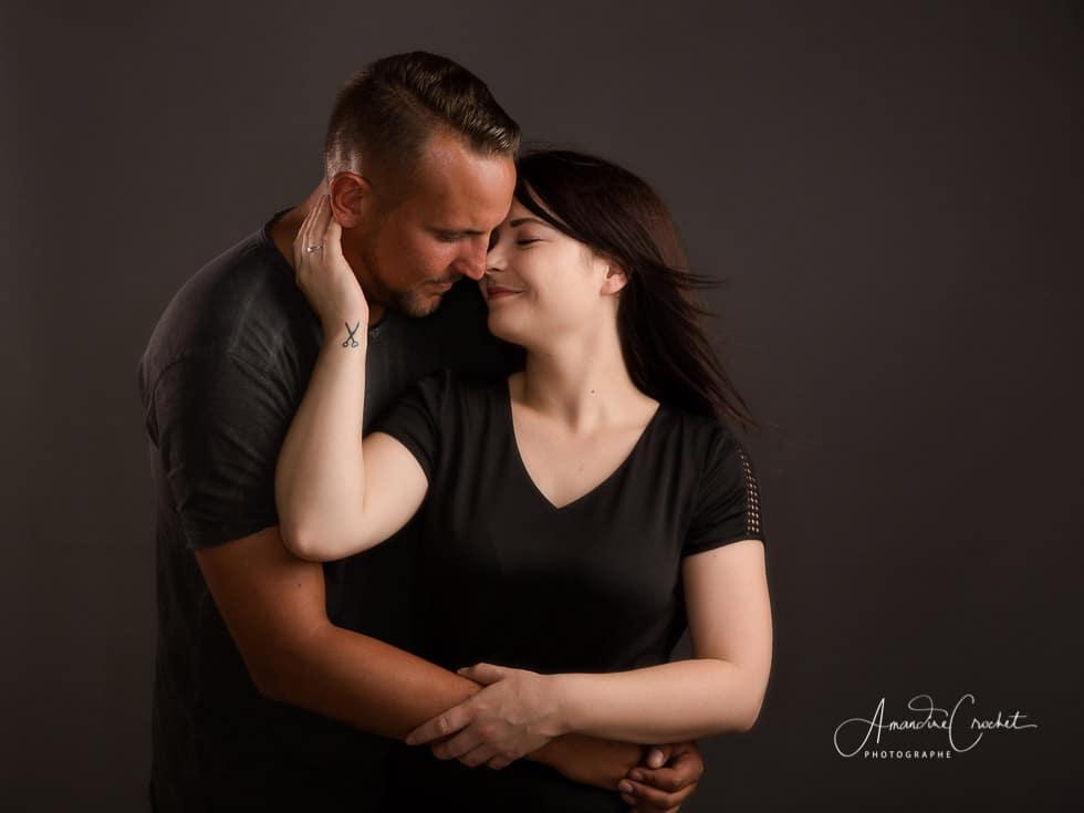 Photos de couple en studio