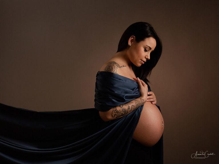 femme enceinte tatouée
