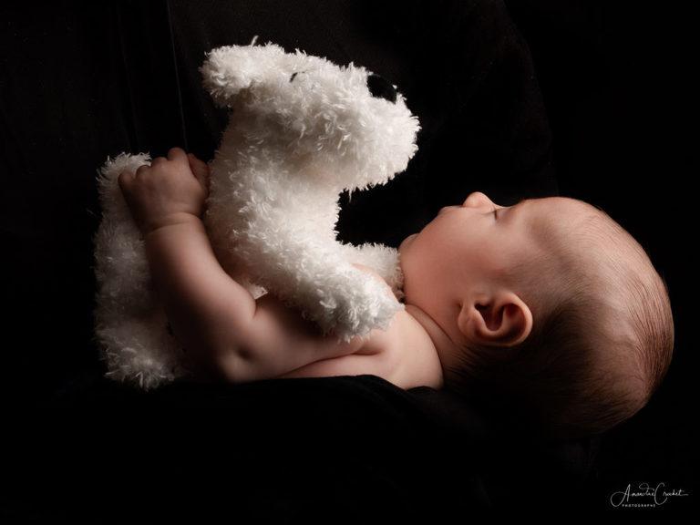 Photos de bébé avec Milou